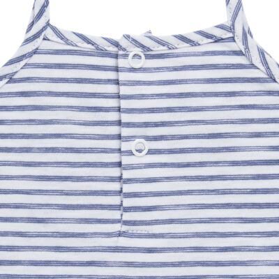 Imagem 5 do produto Vestido com Calcinha para bebe em malha Navy - Tilly Baby - TB168201 CONJ FEMININO VESTIDO C/ CALCINHA LISTRADO-GG