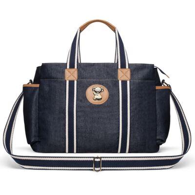 Imagem 3 do produto Bolsa Passeio para bebe + Bolsa Albany +  Frasqueira Térmica Gold Coast Adventure Jeans - Classic for Baby Bags