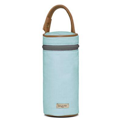 Imagem 4 do produto Bolsa Maternidade para bebe  Ibiza + Frasqueira Térmica Toulon +  Porta Mamadeira em sarja Adventure Azul - Classic for Baby Bags