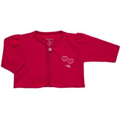 Imagem 5 do produto Macacão longo com Casaco em algodão egípcio Little Hearts - Tilly Baby - TB168162 MACACAO C/ CASACO FEM SUEDINE CORAÇÕES-RN