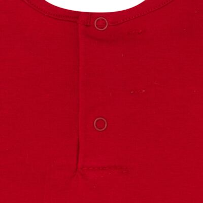 Imagem 4 do produto Body regata c/ Shorts para bebe em cotton Liberty - Mini Sailor - 17374443 CONJ. BODY C/SHORTS COTTON VERMELHO-NB