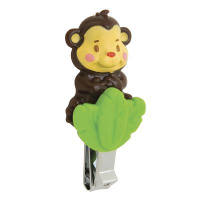 Imagem 1 do produto Cortador de Unhas Animais da Floresta Macaco  - Sassy