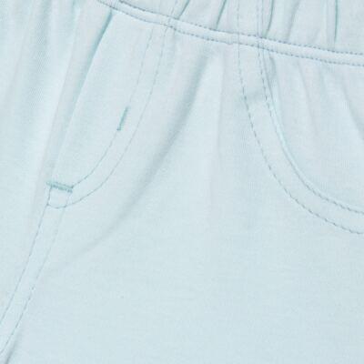 Imagem 2 do produto Bermuda em Pima Cotton Supreme Azul - Mini & Kids - BMAV0001.63 BERMUDA AVULSA - SUEDINE-GG