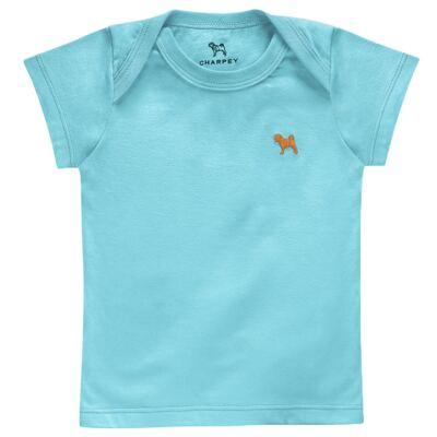 Imagem 1 do produto Camiseta Raglan em malha Tiffany - Charpey - CY20098.515 CAMISETA TIFFANY-3