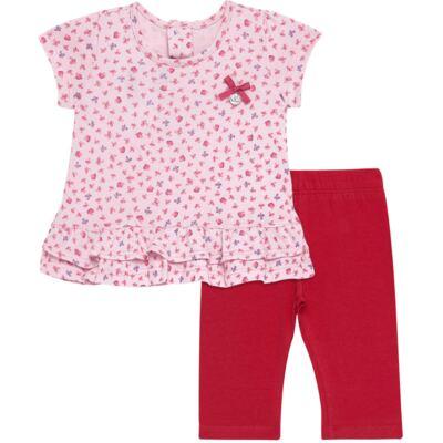 Imagem 1 do produto Bata com Legging para bebe em cotton Papillon - Vicky Lipe - 18620001.54 CONJ.BATA C/LEGGING - COTTON-G