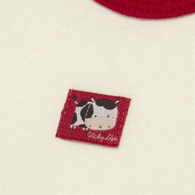 Imagem 6 do produto Body curto com Shorts para bebe em high comfort Vaquinha - Vicky Lipe - 18280001.38 CONJ.BODY C/SHORTS - SUEDINE-G