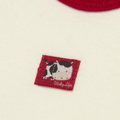 Imagem 5 do produto Body curto com Shorts para bebe em high comfort Vaquinha - Vicky Lipe - 18280001.38 CONJ.BODY C/SHORTS - SUEDINE-G