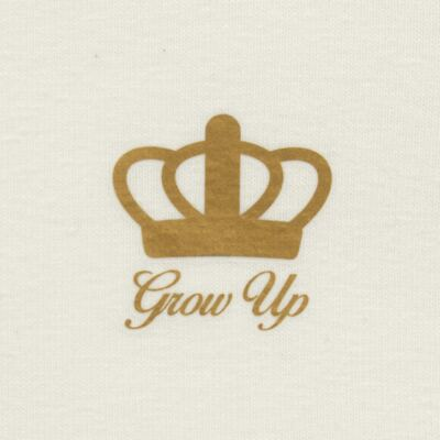 Imagem 3 do produto Blusinha para bebe em cotton Marfim - Grow Up - 03170111.0004 BLUSA BASIC ML CREME-P