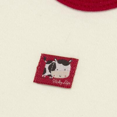 Imagem 3 do produto Body curto com Shorts para bebe em high comfort Vaquinha - Vicky Lipe - 18280001.38 CONJ.BODY C/SHORTS - SUEDINE-GG