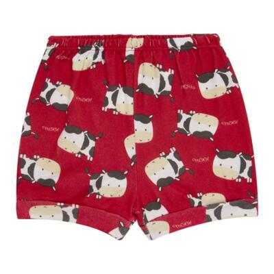 Imagem 4 do produto Body curto com Shorts para bebe em high comfort Vaquinha - Vicky Lipe - 18280001.38 CONJ.BODY C/SHORTS - SUEDINE-GG