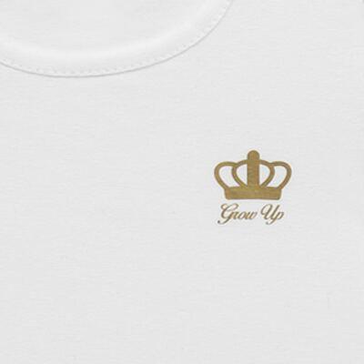 Imagem 2 do produto Blusinha para bebe em cotton Branca - Grow Up - 03170111.0001 BLUSA BASIC ML BRANCO-G