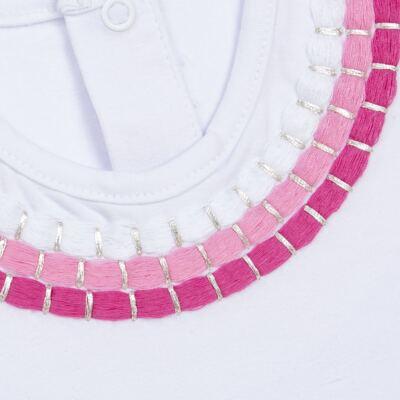 Imagem 2 do produto Blusinha mullet em cotton Maxi Colar - Missfloor