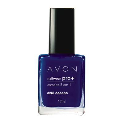 Imagem 2 do produto Nailwear Pro+ Esmalte 5 em 1 12 ml - Nailwear Pró+ Esmalte 5 em 1 - 12 ml - Azul Oceano *Cremosa
