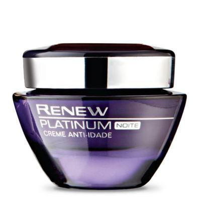 Imagem 1 do produto Creme Anti-Idade Renew Platinum 60+ | Noite 50g