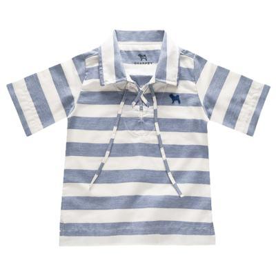 Imagem 1 do produto Bata para bebe em linho Stripes - Charpey