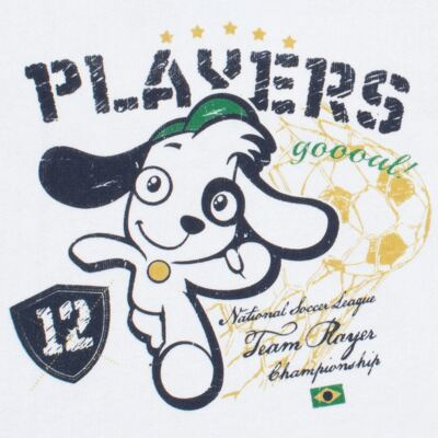 Imagem 3 do produto Blusão com Calça em moletom Doki Futebol - Vicky Lipe - 873330 BLUSÃO M/L C/ CALÇA MOLETON DOKI FUTEBOL-M