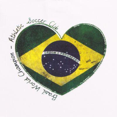 Imagem 2 do produto Blusinha manga longa para bebe em cotton Brasil - Baby Classic - 078353 BLUSINHA ML COTTON COPA-GG