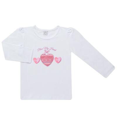 Imagem 1 do produto Blusinha manga longa para bebe em cotton Ethnic - Baby Classic - 58020001.24 BLUSINHA M/L COTTON-3