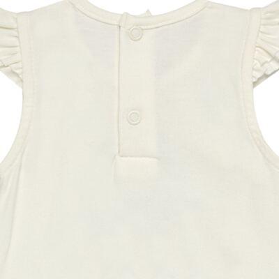 Imagem 4 do produto Body curto com Shorts para bebe em cotton algodão egípcio Love Cute  - Mini & Kids - CJSH0001.233 BODY C/MANGA BAB.E SHORTS - COTTON-P