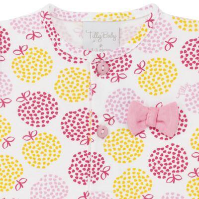Imagem 2 do produto Body vestido para bebe em suedine Sweet Apple - Tilly Baby - TB183016 BODY FEM MAÇA-1