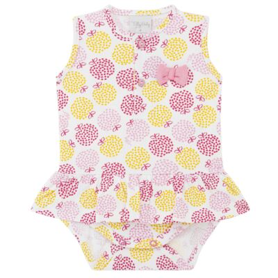 Imagem 1 do produto Body vestido para bebe em suedine Sweet Apple - Tilly Baby - TB183016 BODY FEM MAÇA-GG