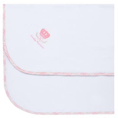 Imagem 1 do produto Cobertor para bebe forrado em microsoft Lovely Princess - Classic for Baby - CBS4121 COBERTOR MICROSOFT C/ FORRO MALHA COROA FEMININA