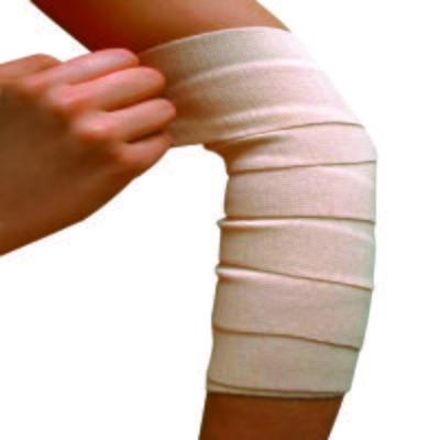 Imagem 1 do produto Atadura Elástica Bandagem Bege Bc110 Mercur - 7,5x120cm