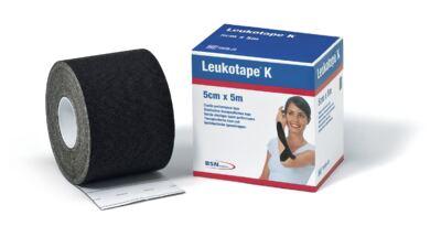 Imagem 1 do produto Leukotape 5 Cm X 5 M Preto Bsn Medical