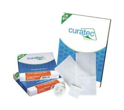Imagem 1 do produto Curativo de Alginato de Cálcio e Sódio Curatec - 10 x 10 cm