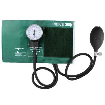Imagem 1 do produto Aparelho de Pressão Aneróide Verde Premium