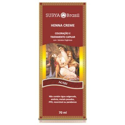 Imagem 1 do produto Tintura Ceme Henna Surya Acaju 70ml