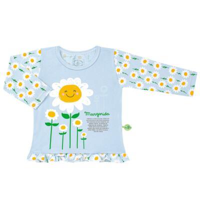 Imagem 2 do produto Pijama longo que Brilha no Escuro Little Daisies - Cara de Criança - L2073 MARGARIDA L PJ-LONGO M/MALHA -4