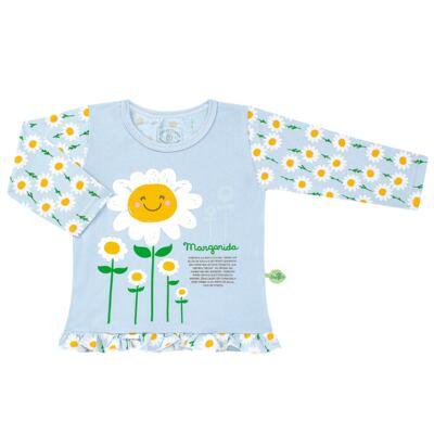 Imagem 2 do produto Pijama longo que Brilha no Escuro Little Daisies - Cara de Criança - L2073 MARGARIDA L PJ-LONGO M/MALHA -1