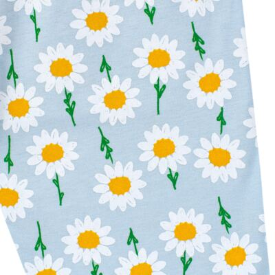 Imagem 7 do produto Pijama longo que Brilha no Escuro Little Daisies - Cara de Criança - L2073 MARGARIDA L PJ-LONGO M/MALHA -1