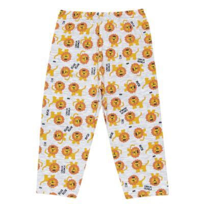 Imagem 6 do produto Pijama curto que Brilha no Escuro Lion - Cara de Criança - BC1943 REI LEÃO BC PJ - BB CURTA C/CALÇA M/MALHA-P