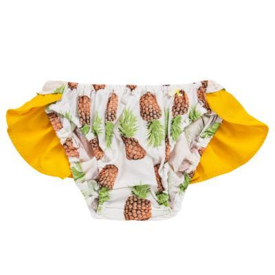 Imagem 3 do produto Conjunto de banho Pineapple: Bumbum + Faixa de Cabelo - Roana - BAST0904013 BANHO DE SOL TURBANTE 124 AMARELO-P