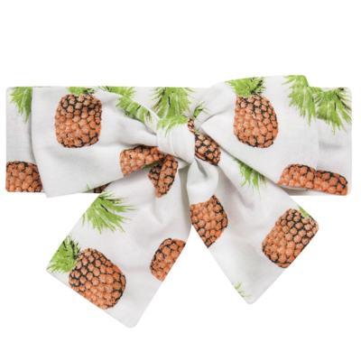 Imagem 4 do produto Conjunto de banho Pineapple: Bumbum + Faixa de Cabelo - Roana - BAST0904013 BANHO DE SOL TURBANTE 124 AMARELO-M