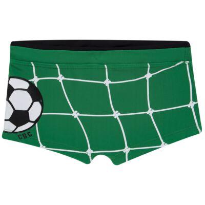 Imagem 4 do produto Conjunto de Banho Football: Camiseta surfista + Sunga - Cara de Criança - KIT 1 2529: SB2529+CSA2529 SUNGA E CAMISETA FUTEBOL-4