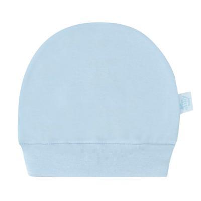 Imagem 1 do produto Touca para bebe em suedine Azul - Tilly Baby - TB13117.09 GORRO SUEDINE AZUL-P