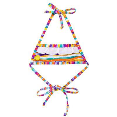 Imagem 4 do produto Conjunto de Banho Peace & Love: Camiseta + Biquíni - Cara de Criança - KIT 1 2586: B2586+CCA2586 BIQUINI E CAMISETA SUMMER-3