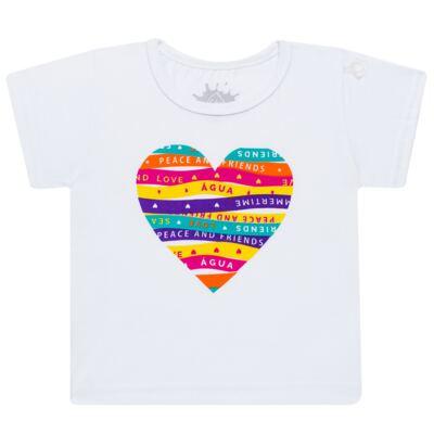 Imagem 2 do produto Conjunto de Banho Peace & Love: Camiseta + Biquíni - Cara de Criança - KIT 1 2586: B2586+CCA2586 BIQUINI E CAMISETA SUMMER-4