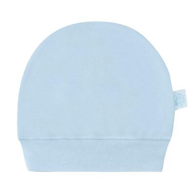 Imagem 2 do produto Kit Touca e Luva para bebe em suedine Azul - Tilly Baby - TB13114.09 GORRO R LUVA DE SUEDINE AZUL-RN