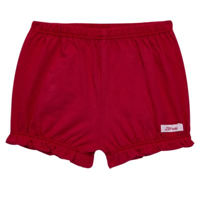 Imagem 1 do produto Shorts balonê para bebe em malha Vermelho - Tilly Baby - TB13105.04 SHORT BALONE MEIA MALHA VERMELHO CEREJA-M