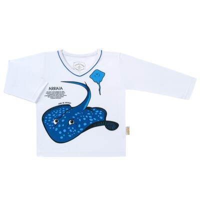 Imagem 2 do produto Pijama longo que Brilha no escuro Arraia - Cara de Criança - L2347 ARRAIA L PJ-LONGO M/MALHA-3