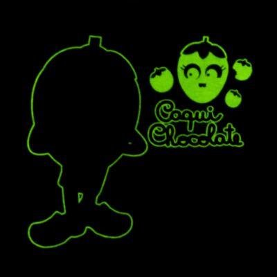Imagem 5 do produto Pijama Curto que Brilha no Escuro Caqui Chocolate - Cara de Criança - C1912 CAQUI CHOCOLATE C PJ - MG CURTA C/CALCA M/MALHA -1