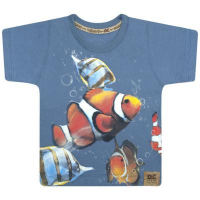 Imagem 1 do produto Camiseta em malha Peixinho - CDC T-Shirt - CMC0996 CAMISETA EM MALHA PEIXINHO-3