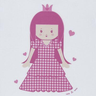 Imagem 3 do produto Pijama curto com Shorts em malha Princesinha - Cara de Sono - U1997 PRINCESINHA U PIJAMA-CURTO M/MALHA -3