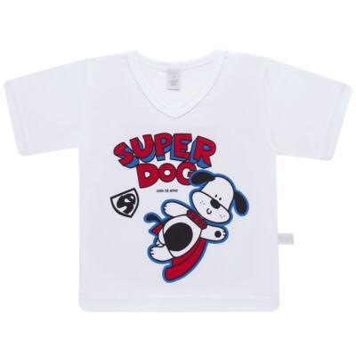 Imagem 2 do produto Pijama curto em malha Super Dog - Cara de Sono - U2462 SUPER DOG U PIJAMA-CURTO M/MALHA-1