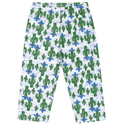 Imagem 6 do produto Pijama longo que Brilha no escuro Cacto - Cara de Criança - L2371 CACTUS L PJ-LONGO M/MALHA-6