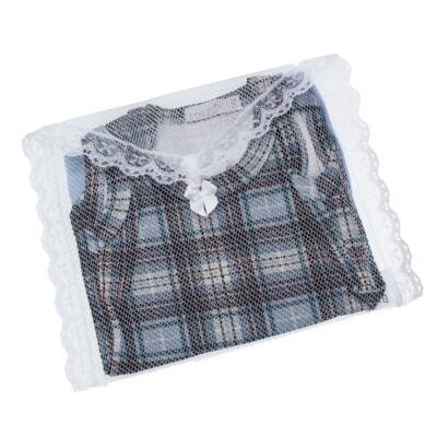Imagem 5 do produto Body regata c/ Cobre Fralda para bebe em algodão egípcio Windsor - Roana - 02132024370 Body c/ Cueca Xadrez Azul -G